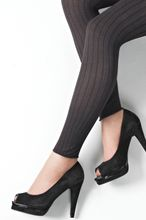 Fynd! Melanged rib leggings