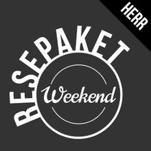 Resepaket weekend herr