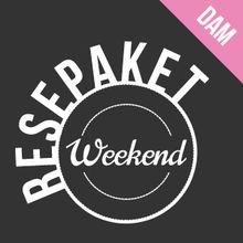 Resepaket weekend dam