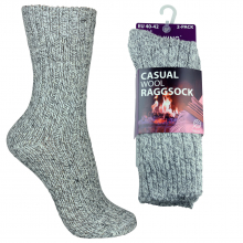 2-pack walking raggsockor ull