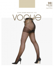 Superfynd! Vogue 20 den plus size strumpbyxor