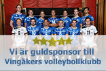Vi �r guldsponsor till Ving�kers volleybollklubb