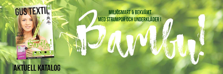 Strumpor och underkläder i bambu