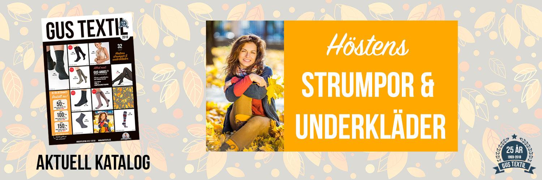 Höstens strumpor och underkläder