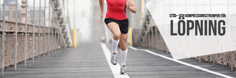 Strumpor för löpning